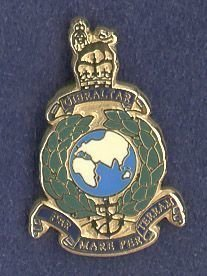 ROYAL MARINES - LAPEL BADGE