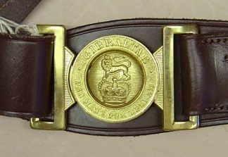 ROYAL MARINES WARRANT OFFICERS SWORD BELT