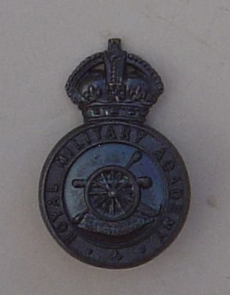 ROYAL MILITARY ACADEMY KC bronze Officer Cadets cb