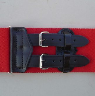 ROYAL MILITARY POLICE Leather Straps Stable Belt