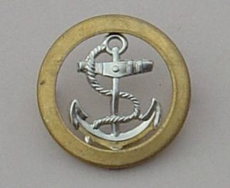 Royal Naval Ratings Berret Badge - bi-metal