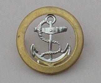 Royal Naval Ratings Berret Badge - bi-metal