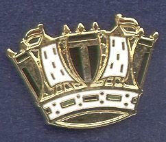 ROYAL NAVY - LAPEL PIN - Howe Crown