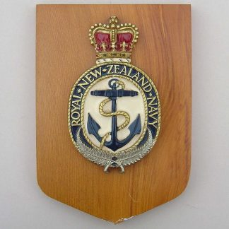 ROYAL NEW ZEALAND NAVY wall plaque