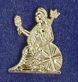 ROYAL NORFOLK REGIMENT- LAPEL BADGE