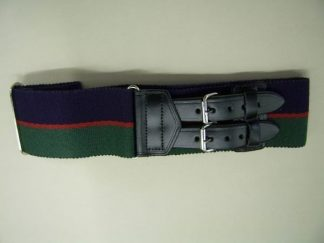 ROYAL REGIMENT of WALES Leather Straps Stable Belt