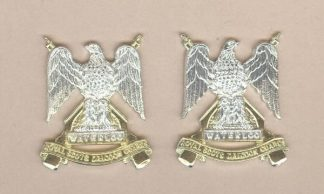 ROYAL SCOTS DRAGOON GUARDS a/a pair collars