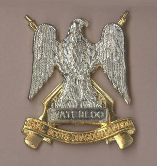 ROYAL SCOTS DRAGOON GUARDS bi/m or's c/b