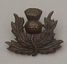 ROYAL SCOTS ? O.S.D. Bronze single collar