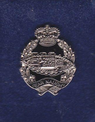 Royal Tank Regiment - LAPEL BADGE