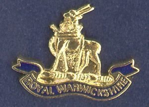 ROYAL WARWICKSHIRE REGIMENT - Lapel badge