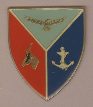 S.A. ARMY HEADQUARTERS UNIT P/F gold type