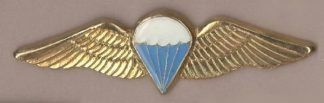 SA PARA BASIC - metal wings  'Gold' wing blue