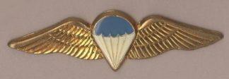 SA PARA BASIC - metal wings?  'Gold' wing blue