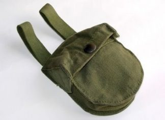 S. A. S. Altimetre Pouch 1944 web equipment