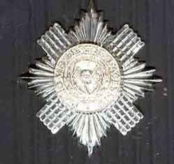 SCOTS GUARDS SERGEANTS BADGE