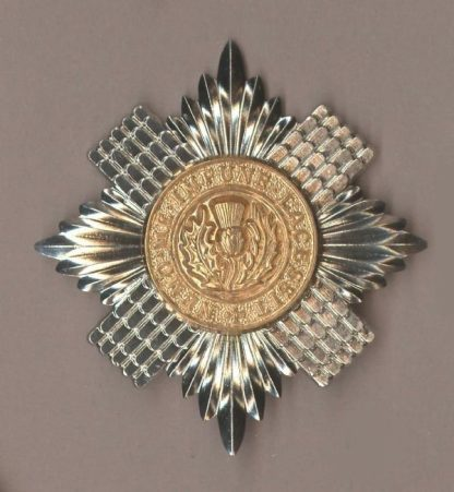 SCOTS GUARDS Sergeants bi-metal cap badge
