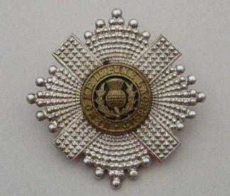 SCOTS GUARDS Warrant Officers badge 3-part w/m g/m