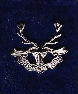 SEAFORTH HIGHLANDERS lapel badge CAP BADGE enamel