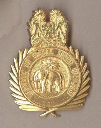SIERRA LEONE, REPUBLIC OF SIERRA LEONE REGIMENT