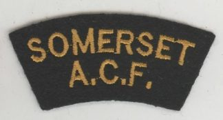 SOMERSET C.C.F. cloth s/t  embroid. yellow/black
