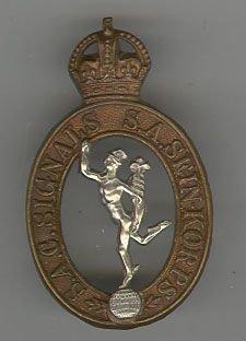 SOUTH AFRICAN SIGNAL CORPS KC WWII pat. bi/m c/b