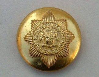 SOUTH AFRICA POLICE 25mm ORS BRASS BUTTON