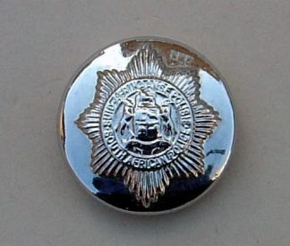 SOUTH AFRICA POLICE 25mm ORS CHROME BUTTON
