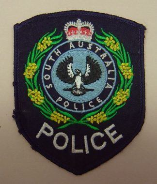 SOUTH AUSTRALIA POLICE sleave patch