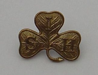 SOUTH IRISH HORSE g/m cap badge