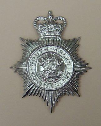 SOUTH WALES CONSTABULARY QC Chrome, star pat