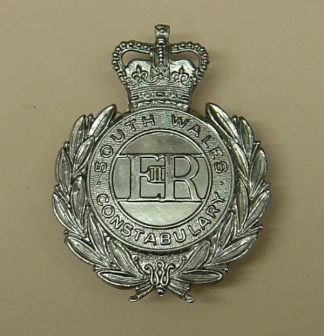 SOUTH WALES CONSTABULARY QC Chrome, wreath pat.