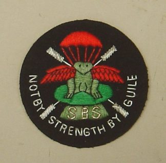 ECIAL BOAT SERVICE sleeve patch, Bullion embrd .