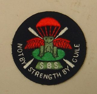 SPECIAL BOAT SERVICE sleeve patch, cotton embroid.