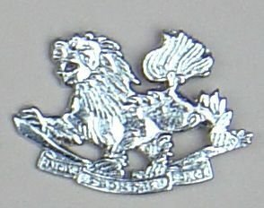 SPECIAL FRONTIER FORCE nickel plate OR's cap badge