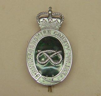STAFFORDSHIRE COUNTY POLICE HP QC Chrome grn/enamest