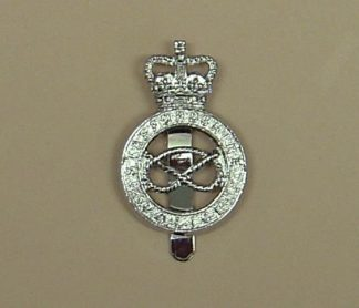 AFFORDSHIRE POLICE QC Chrome  cap badge