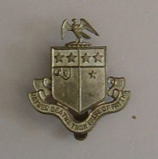 JOHNS SCHOOL, LEATHERHEAD O.T.C. g/m cap badge