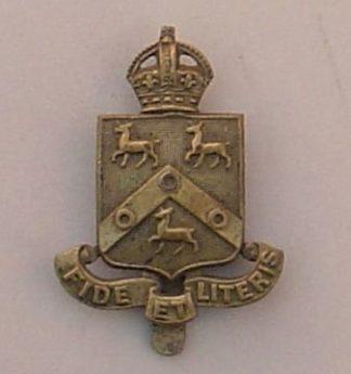 ST PAULS SCHOOL, LONDON W.14 , g/m cap badge