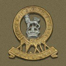 15th/19TH (KING'S) HUSSARS - KC OR's Bi/m cap badge 1922-1955 cap badge (re-strike)