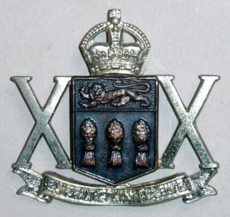 20TH SASKATCHEWAN ARMOURED REGIMENT KC bi-meta