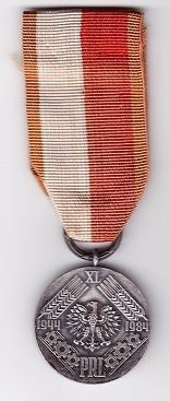 40 YEARS OF PEOPLES POLAND MEDAL