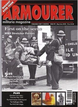 Armourer - Militaria  Magazine -  Issue 99