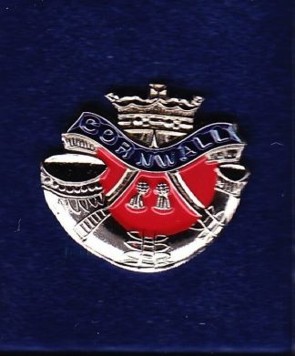 DUKE OF CORWALLS LIGHT INFANTRY - LAPEL BADGE