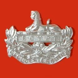 GLOUCESTERSHIRE REGIMENT a/a cap badge