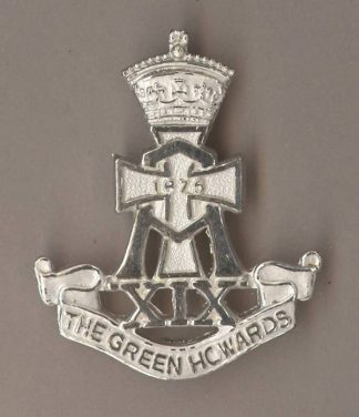 GREEN HOWARDS - Post Brigades Officer sil.pl.
