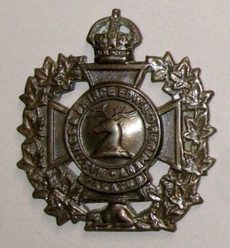 HASTINGS and PRINCE EDWARD REGIMENT KC bronzed