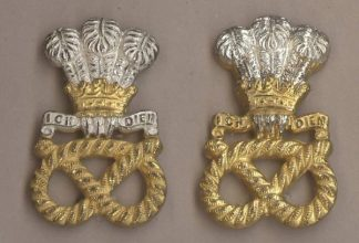 HE NORTH STAFFORDSHIRE REGIMENT' sil.pl pair