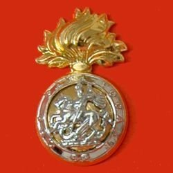 NORTHUMBERLAND FUSILIERS a/a cap badge
