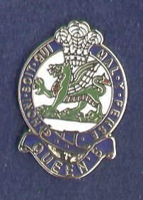 QUEENS - LAPEL BADGE - POST 1970